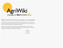 Tablet Preview of agriwiki.org